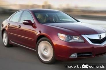 Insurance rates Acura RL in Albuquerque