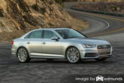 Insurance rates Audi A4 in Albuquerque