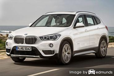 Insurance quote for BMW X1 in Albuquerque