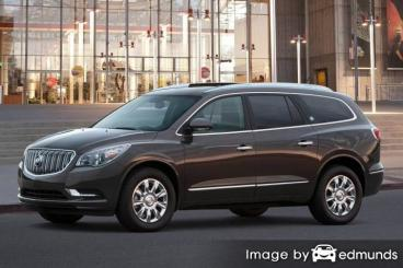 Insurance rates Buick Enclave in Albuquerque