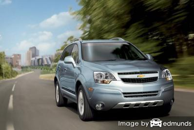 Insurance quote for Chevy Captiva Sport in Albuquerque