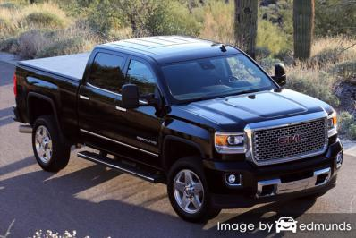Insurance quote for GMC Sierra 2500HD in Albuquerque