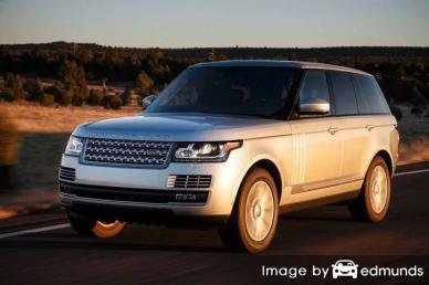 Insurance rates Land Rover Range Rover in Albuquerque