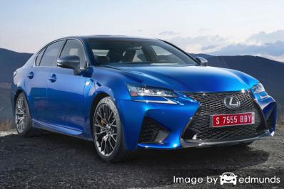 Insurance quote for Lexus GS F in Albuquerque
