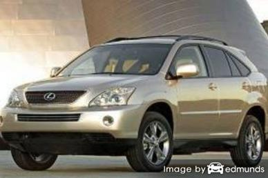 Insurance rates Lexus RX 400h in Albuquerque