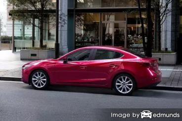 Insurance quote for Mazda 3 in Albuquerque