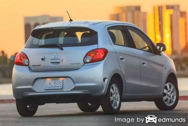 Insurance quote for Mitsubishi Mirage in Albuquerque