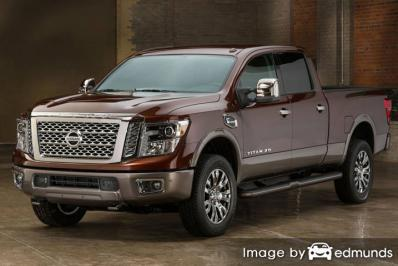 Insurance quote for Nissan Titan in Albuquerque