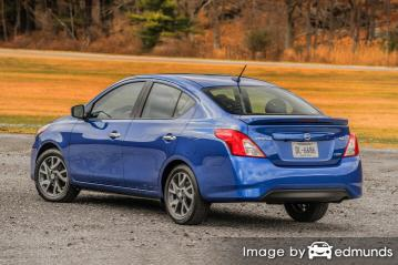 Insurance quote for Nissan Versa in Albuquerque