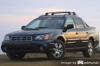 Insurance for Subaru Baja