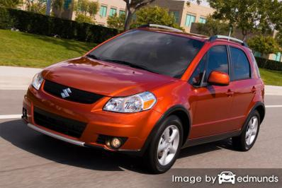 Insurance quote for Suzuki SX4 in Albuquerque
