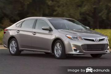 Insurance quote for Toyota Avalon in Albuquerque