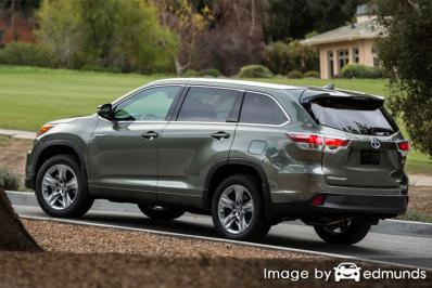 Insurance quote for Toyota Highlander Hybrid in Albuquerque