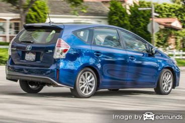 Discount Toyota Prius V insurance